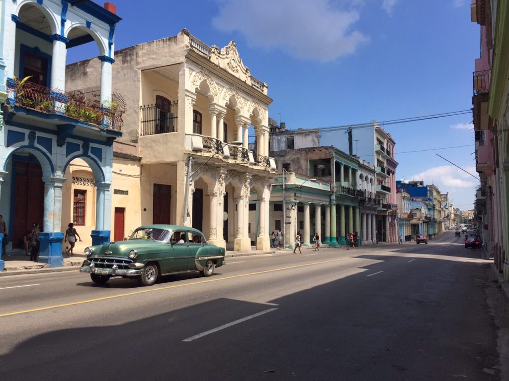 Walking the streets of Havana is the west way to experience the culture.