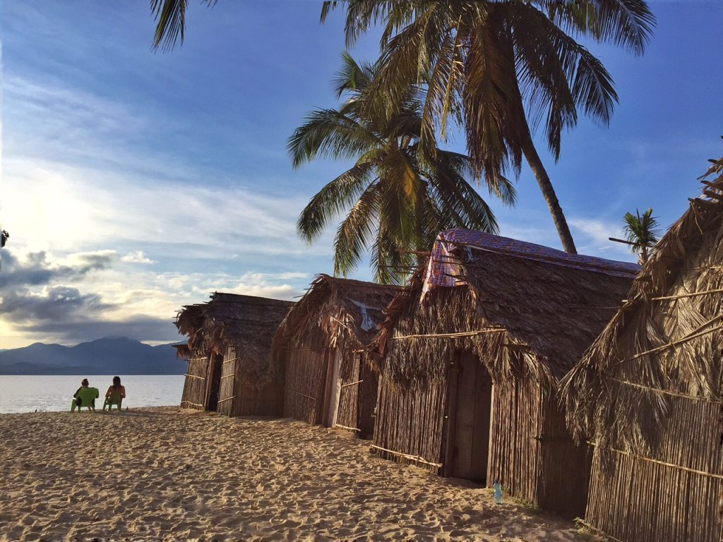 Ina's island beach huts in San Blas Islands Panama