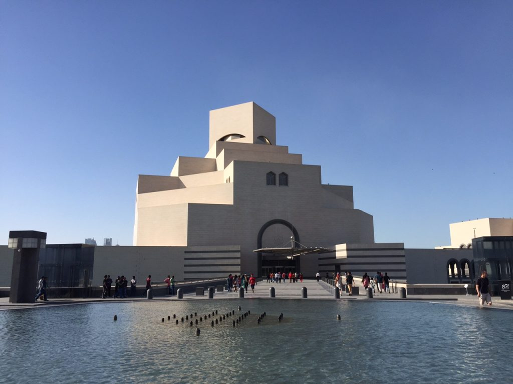 The Museum of Islamic Art Doha Qatar Abstract Heaven