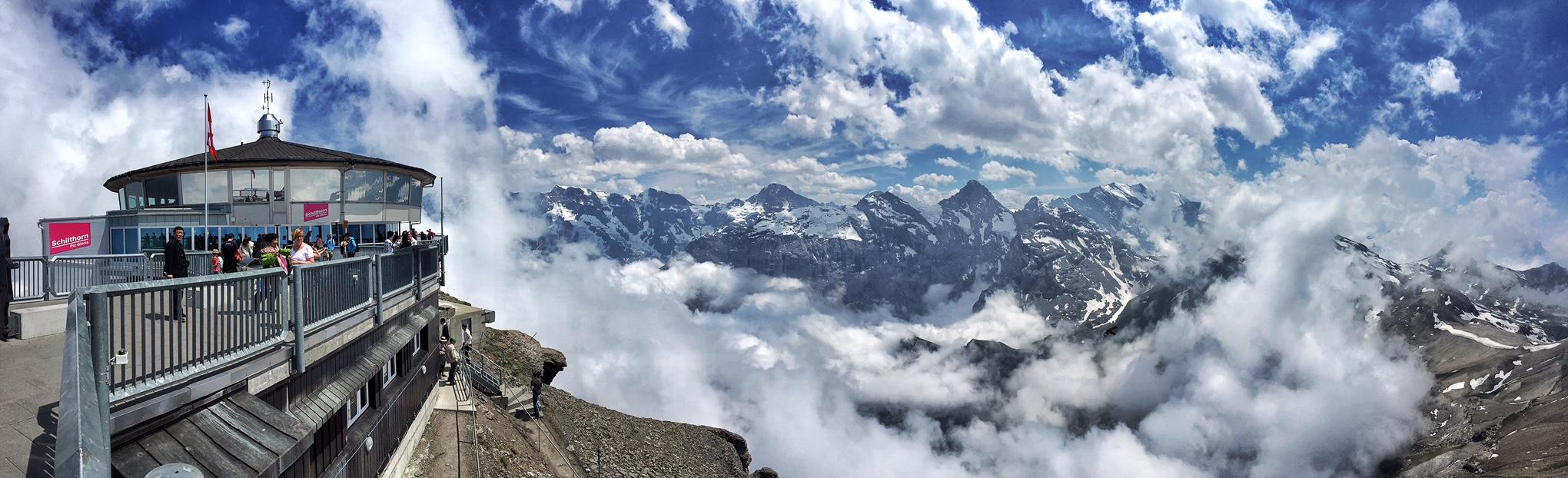 Schilthorn Switzerland 007 Panorama Views Abstract Heaven